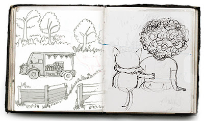 Little Curly, children's book, The amazing adventures of Summer and Little Curly