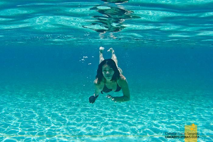 Carabao Island Romblon Snorkeling Hambil Beach