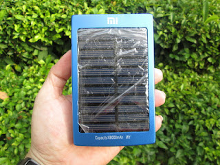 powerbank solar cell Xiaomi