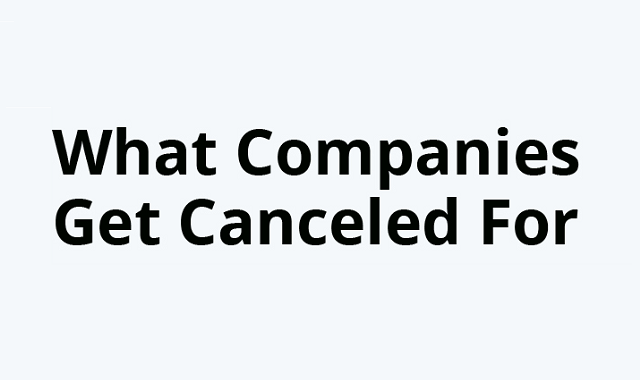 Reasons which companies are boycotted for
