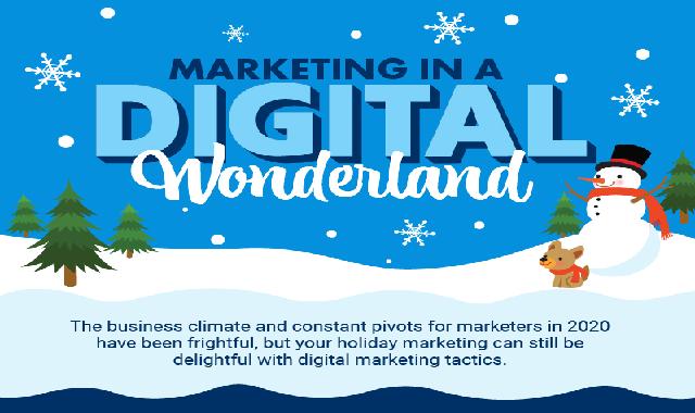 Marketing in a Digital Wonderland #infographic
