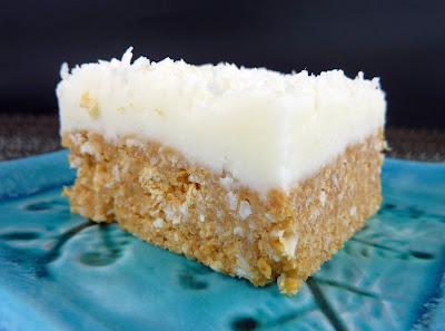 No-bake Lemon Coconut Squares