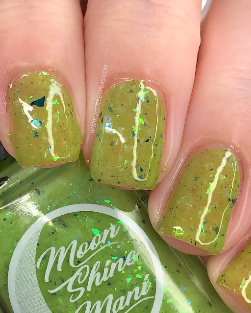 Moon Shine Mani Optimus Lime