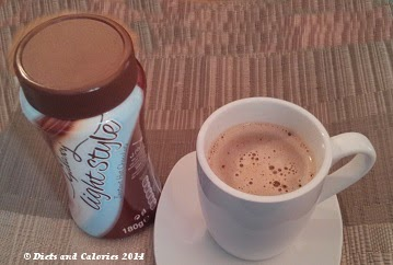 Galaxy Light Style instant hot chocolate