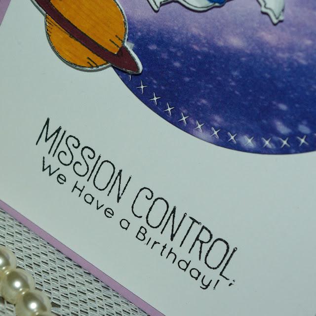 [DIY] Mission Control We have a Birthday! Astronauten-Grüße aus dem Weltall.