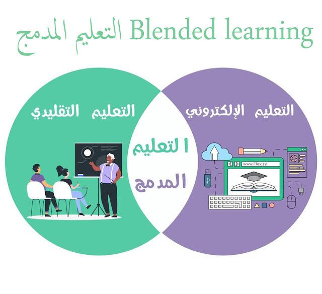 التعليم المدمج Blended learning