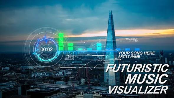 Videohive Futuristic Music Visual 17308441