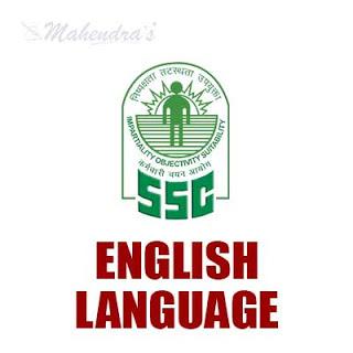 SSC Quiz : English Language | 10 - 11 - 17