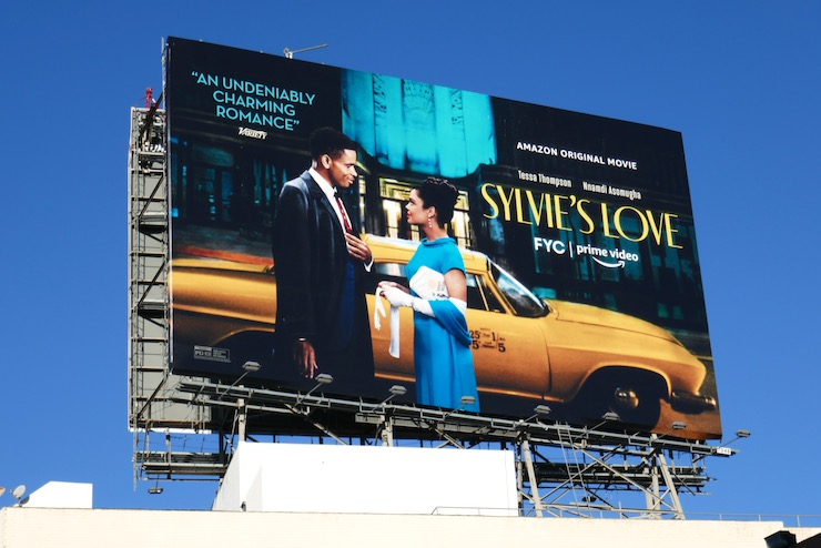 Sylvies Love movie billboard