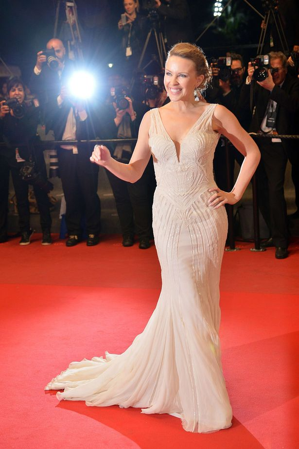 Watch Kylie Minogue Receives Dance Floor Hero Award At: WATCH: Kylie Minogue Shines At Cannes 2013