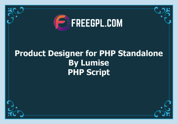 Lumise Product Designer for PHP Standalone Free Download