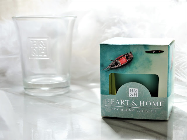 avis Mediterranean Seasalt (Escale en Méditerranée) de Heart & Home, la nuit tombée heart & home, blog bougie, candle blog, bougie heart & home, candle review
