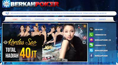 Jelang Pengumuman Kontes Seo Agen Poker Online Uang Asli Berkahpoker.com 2016