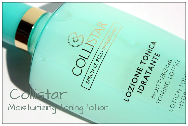 Review: Collistar Moisturizing Toning Lotion