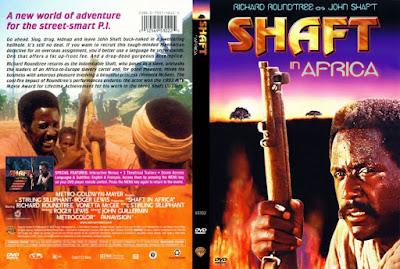 Carátula dvd: Shaft en África / Descargar / Película