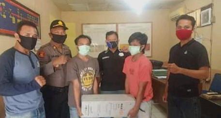 Polisi ringkus kawanan pencuri baterai BTS