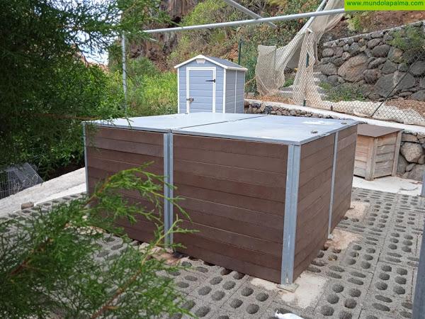 Santa Cruz de La Palma inicia las obras para habilitar un nuevo punto de compostaje en Miranda