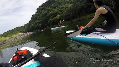 SUP paddleboarding Yakushima