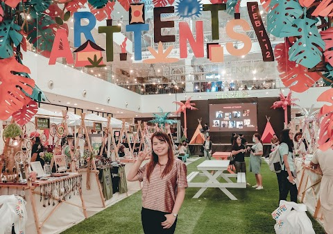 ART TENTS 2020 IN AYALA CENTRIO