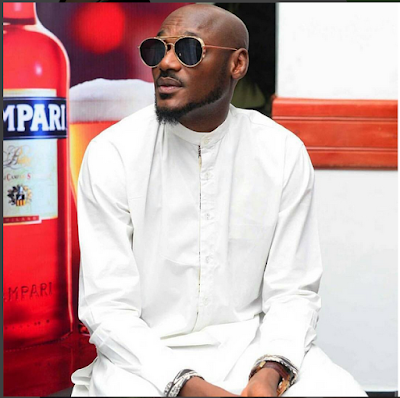 2Face And Kcee Pose As They Depart Nigeria For 2016 Afrimma Awards In The US