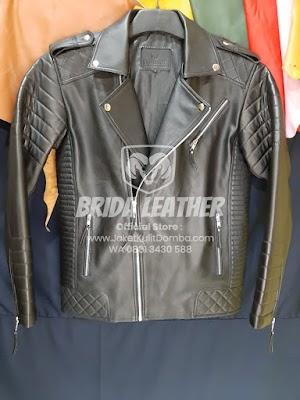 Jual Jaket Kulit Asli Garut Pria Domba Original Ramones Reasing Brida Leather | WA 08813430588