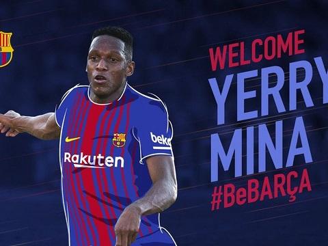 Hy vọng Mina sẽ tạo nên điều kỳ diệu cùng các đồng đội ở Barca