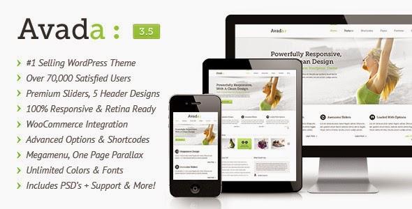 Avada v3.1.1 WordPress Theme
