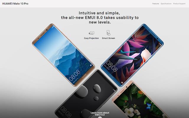 Huawei Mate 10 Pro (consumer.huawei.com)