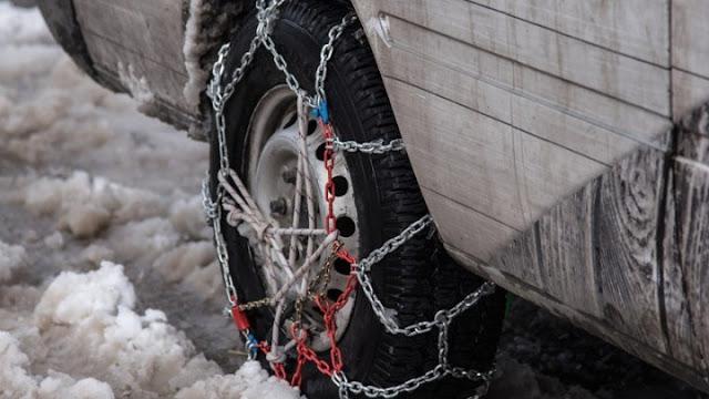 Χωρίς προβλήματα το οδικό δίκτυο της Αργολίδας - Με αλυσίδες επαρχιακές οδοί σε Κορινθία και Αρκαδία