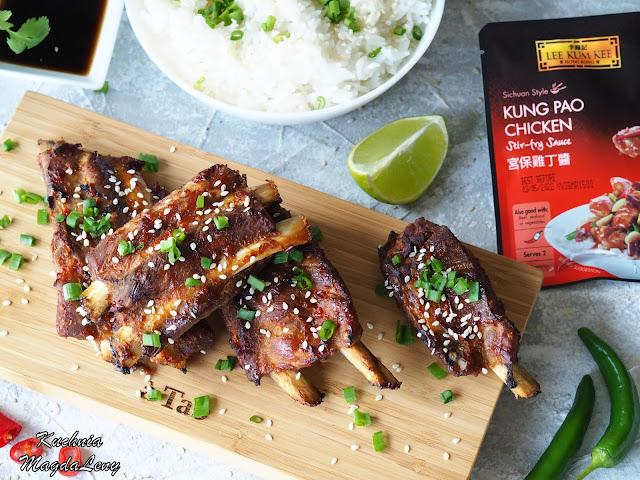 Pieczone żeberka Kung Pao