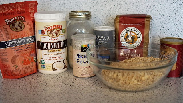 Ingredients for delicious pancake hacks