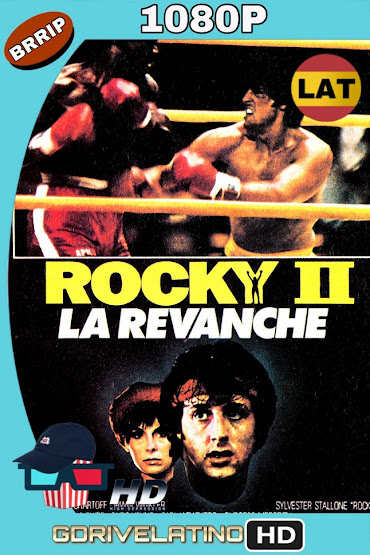 Rocky 2 (1979) BRrip 1080p Latino-Ingles mkv