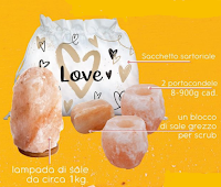 My Custom Style : vinci gratis kit con lampada di sale, portacandele e blocco di sale