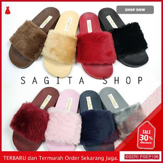 A18589 Sandal slop Bulu fur SB CIELLO | BMGShop