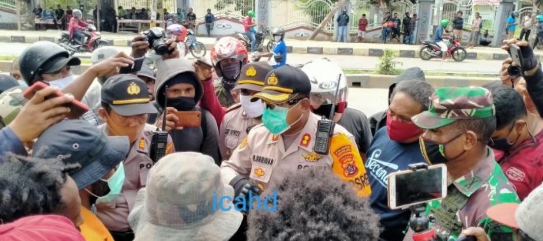Pemuda Papua Berunjukrasa Minta Otsus Dilanjutkan