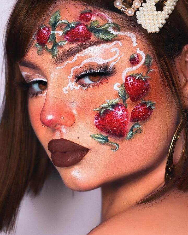 07-Strawberries-food-art-Sarinanexie-www-designstack-co