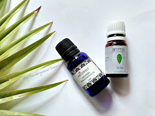 Tea Tree and Geranium Oil