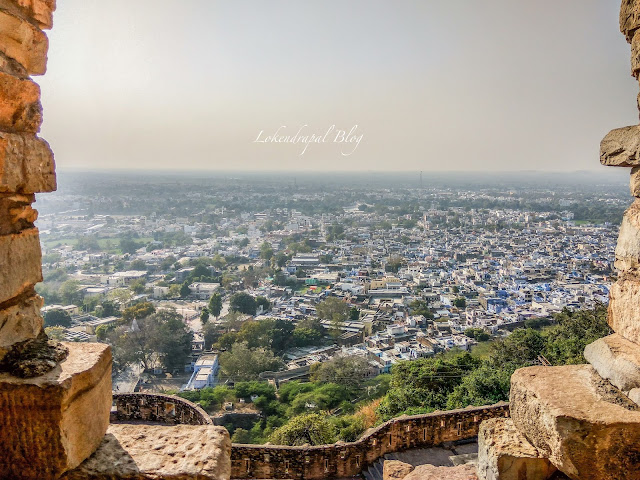 View of City from Fort