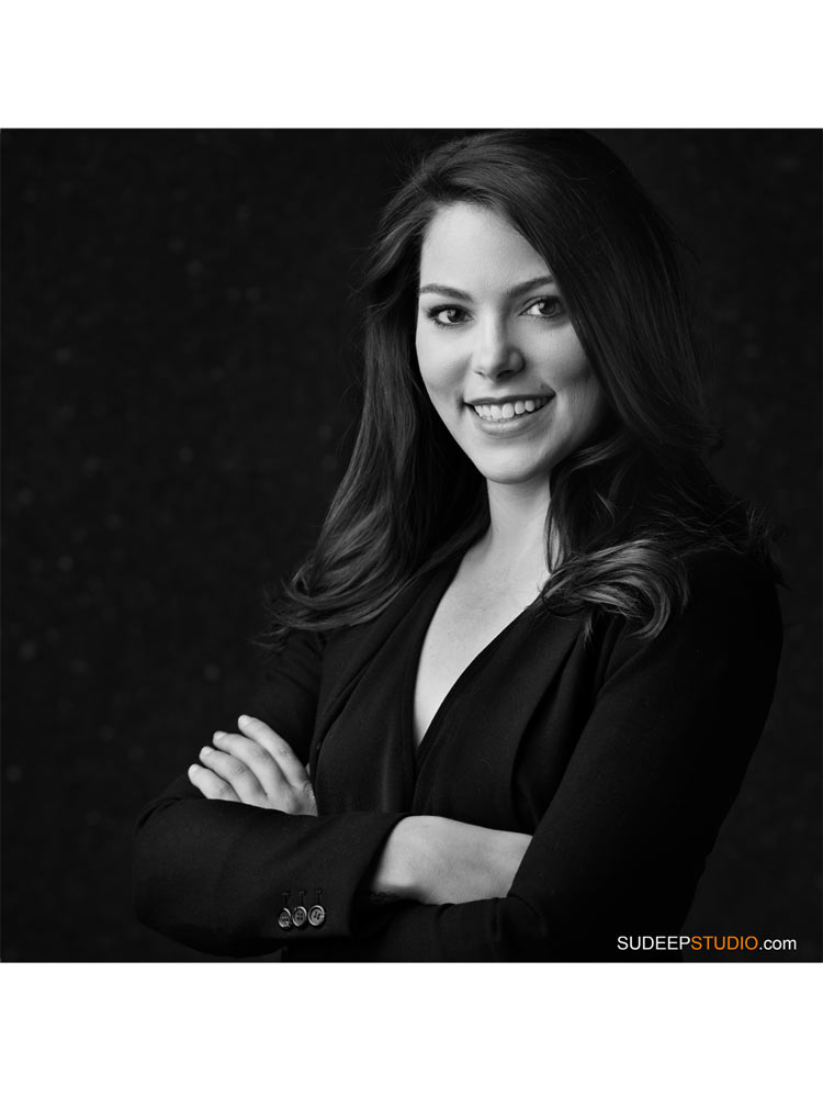 Business Headshots for Women Linkedin Corporate Website by SudeepStudio.com Ann Arbor Professional Portrait Photographer