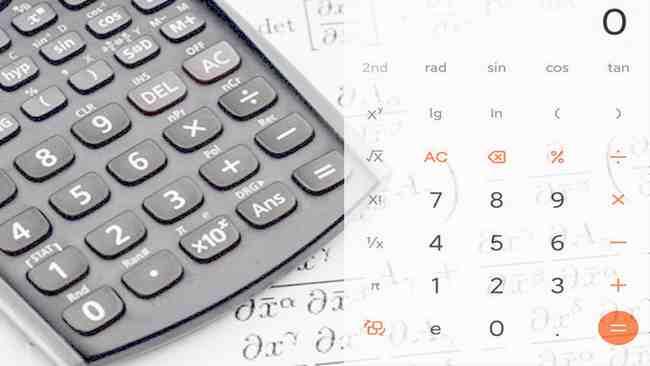 Mengaktifkan fungsi kalkulator Sin Cos di Xiaomi