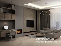 jasa gambar livingroom murah