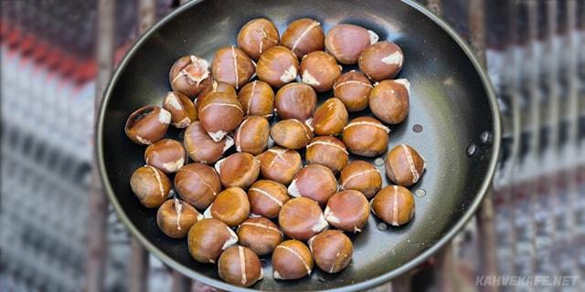 tavada kestane nasıl olur, tavada kestane kebap, tavada kestane yapılışı, tavada kestane yapmak, tavada kestane tarifi - www.kahvekafe.net