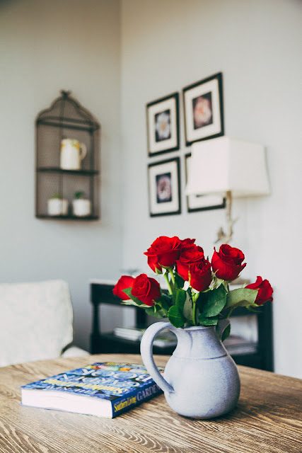 decorating roses