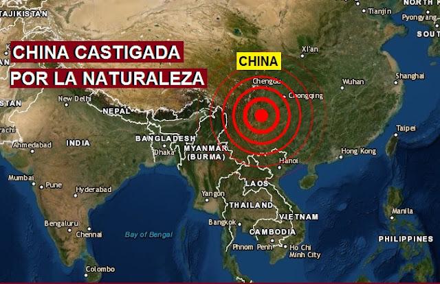 VIDEOS | Reportes de viviendas dañadas tras el riguroso sismo que estremece China