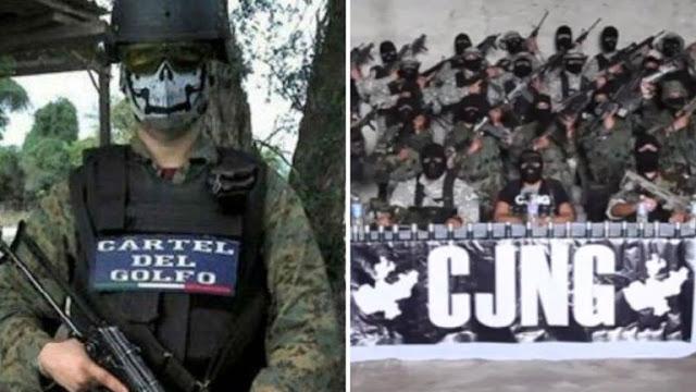 Los Ciclones del Cártel del Golfo buscan ayuda y se unen a El CJNG y le permiten el ingreso a Tamaulipas para combatir a Las Tropas del Infierno del CDN
