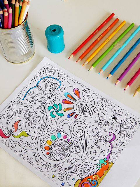Colouring For Relaxation | empoweredinternetwomen