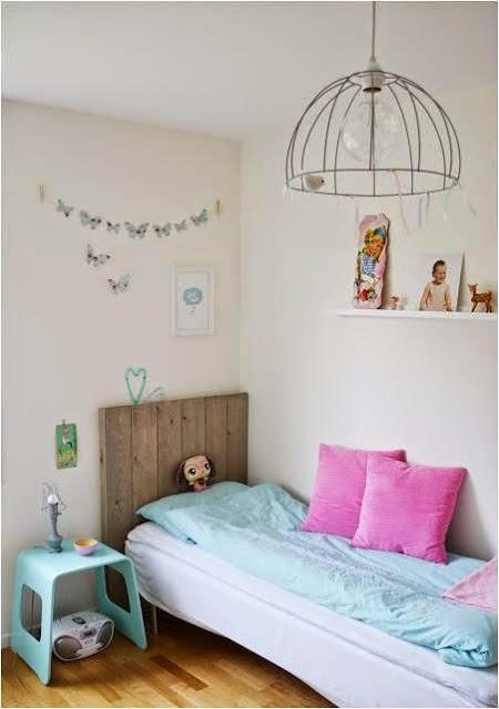 cuarto para niña vintage