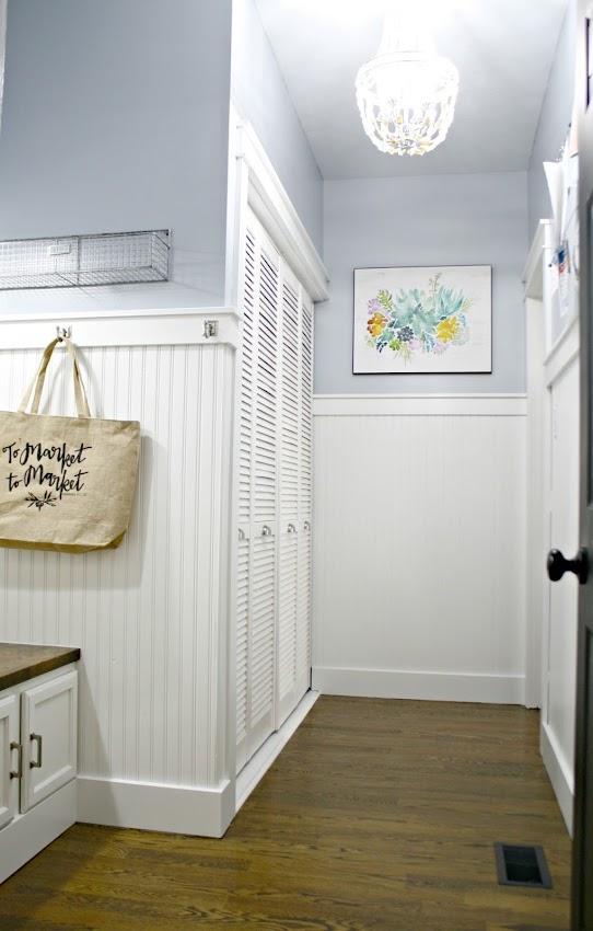 white utility doors