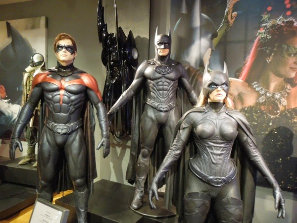 Batman and Robin hero movie costumes