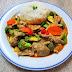 [407] Schweinefleisch mit Indian Curry